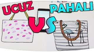 UCUZ VS PAHALI YAZLIK ÜRÜNLER ile 3 Marker Challenge | DIY | Cheap vs Expensive - Fenomen Tv