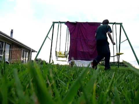 how to make a homemade golf net
