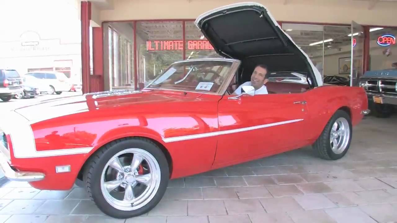 1968 Chevrolet Camaro Ss 350 Convertible For Sale Flemings