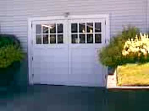 Swing Out Carriage Garage Doors Youtube