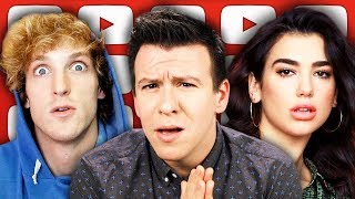 Dua Lipa Crackdown Controversy, Top 10 Youtube Channel Sold, Logan Paul Hacked, NRA, & Botham Jean