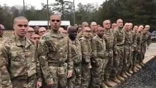 Heading to Basic Training at Fort Jackson