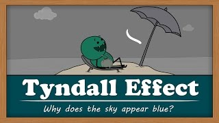 Tyndall Effect - Why does the sky appear blue?   #aumsum #kids #education #science #learn