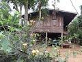 Karen hilltribe village and expedition base