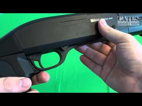 Airsoft gun review : Firepower MS Shotgun (cybergun)