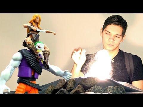 Игры для детей. Ловушка для Джокера от Шанны (Marvel) и поиски драконов! Мультики для мальчиков.
