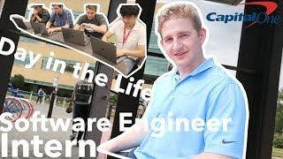 A Day in the Life of a Software Engineer INTERN | CAPITAL ONE