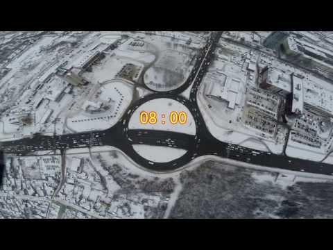 Час пик на обновлённом кольце #Самара #Samara