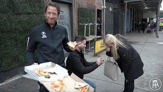 Barstool Pizza Review - Serafina Pizza (Bonus Marriage Proposal)