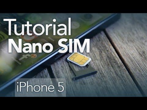 Cómo convertir tu Sim o MicroSim a NanoSim - Tutorial