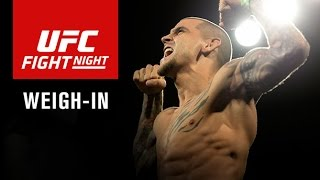 La pesée de l'UFC Fight Night 94 en direct sur IKUSA le 16/09 à 23h00