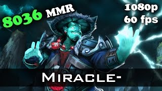 Miracle- Storm Spirit 8036 MMR Ranked Match Dota 2