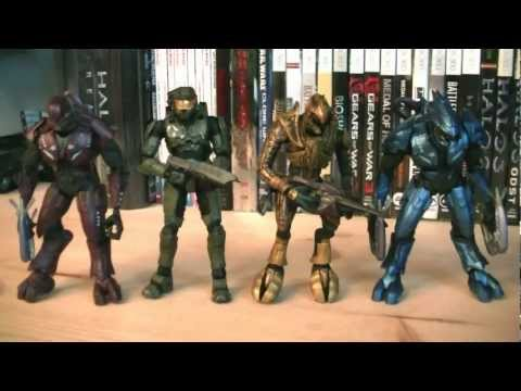 Halo Universe Series 1 Halo 3 Campaign CO-OP Deluxe Boxed Set Review