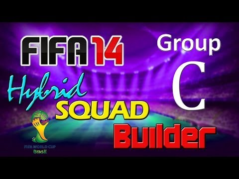 FIFA 14 | World Cup 2014 Hybrid Squad | Group C | Colombia, Greece, Japan & Ivory Coast