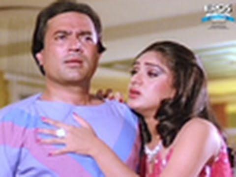 Meenakshi Sheshadri Truely In Love With Rajesh Khanna - Bewafai
