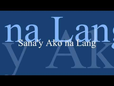 Six Part Invention - Sana'y Ako Na Lang video
