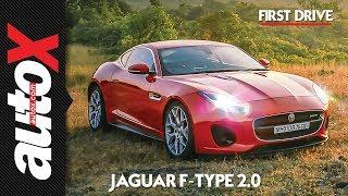 Jaguar F-Type 2.0 Review | First Drive | autoX