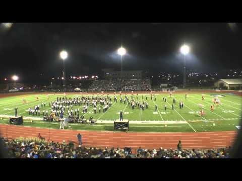 Walker Valley High School Mustang Band Oct 26,2013