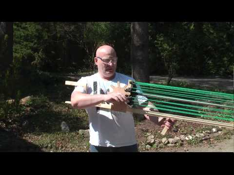 Full Auto: Gatling Slingshot Crossbow