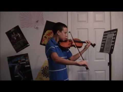 Don Juan violin excerpt