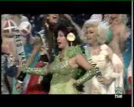 CHOCCOROLA - CARTA BLANCA - MISS ESPAÑA TRAVESTI
