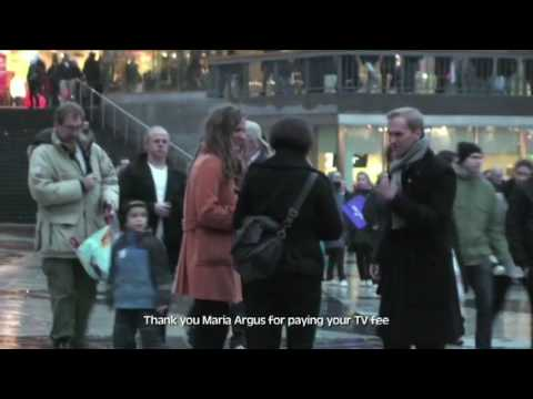 Swedens Biggest Flashmob - Sergels Torg [Eng subs]