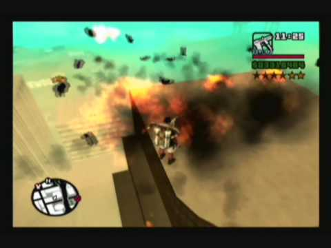 GTA San Andreas: Huge Explosions - Video 1