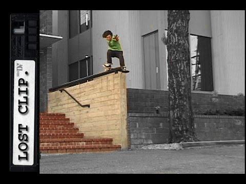 Josh Harmony Lost Skateboarding Clip #55
