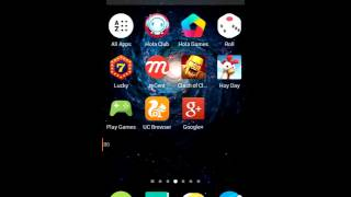 How to hide apps on hola luncher
