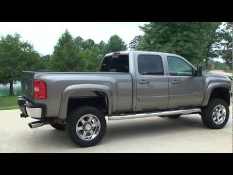 SOLD !!  2008 CHEVROLET SILVERADO 2500 HD 4X4 LIFTED DURAMAX FOR SALE SEE WWW SUNSETMILAN COM