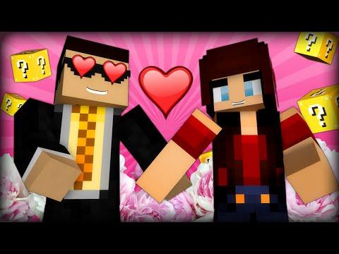 I Am Ashley Mariee's Boyfriend - Minecraft Lucky Block Barbie 60fps (minecraft Mods) video