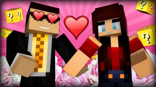 I AM ASHLEY MARIEE'S BOYFRIEND - Minecraft Lucky Block Barbie 60FPS (Minecraft Mods)