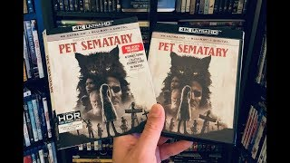 Pet Sematary 4K  BLU RAY REVIEW + Unboxing