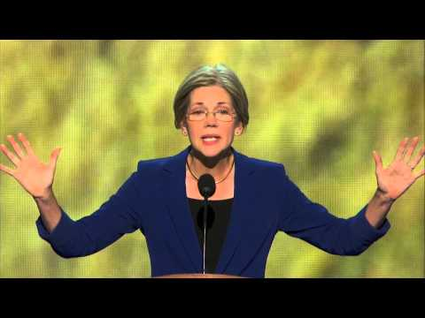 DNC 2012 - Elizabeth Warren Speech Full -
