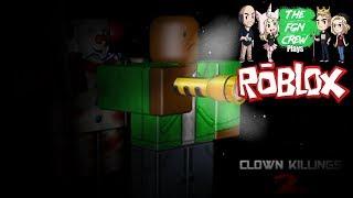 The FGN Crew Plays: ROBLOX - Clown Killings Part 2