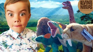 ON A DINOSAUR HUNT WITH EXPLORER ELIJAH! YOU WONT BELIEVE WHAT HE DISCOVERS
