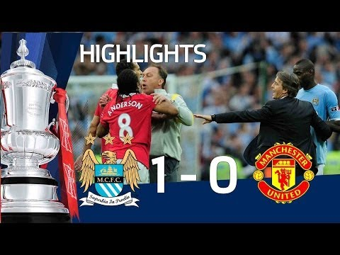 Man City 1-0 Man United Official Highlights | The Fa Cup Semi Final video