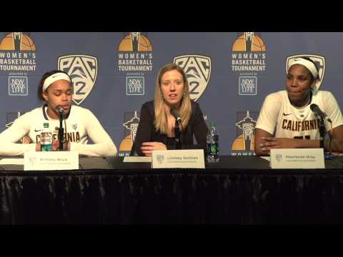 Cal Women's Basketball: Lindsay Gottlieb, Boyd, and Gray (Post-Colorado)