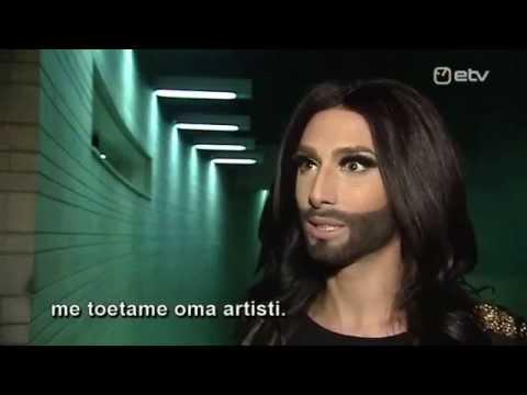 Conchita Wurst interview on ETV