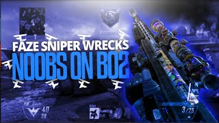 FaZe Sniper Wrecks n00bs on BO2