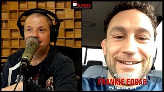 Frankie Edgar Talks About Rumored Conor McGregor Fight and Move to Bantamweight | Unfiltered Podcast