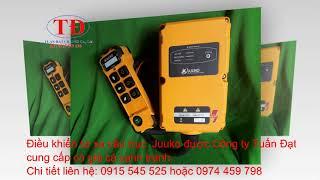 Điều khiển từ xa cầu trục Juuko, remote điều khiển từ xa cầu trục hiệu Juuko