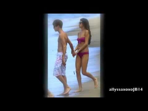 Justin Bieber and Selena Gomez - Maui Beach 2011 thumbnail