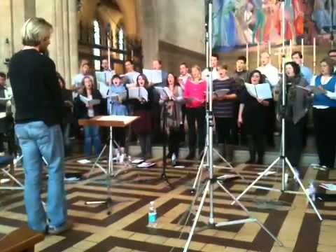 The Eric Whitacre Singers Recording
