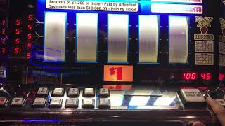 Double Diamond 9 Line $45/spin - High Limit - Golden Nugget