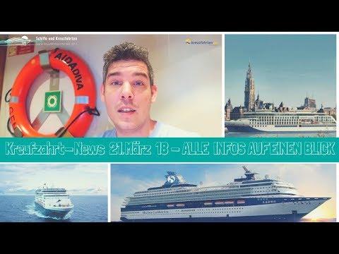 Kreuzfahrt News 21. März 2018: SkySea, Mein Schiff 2, Vasco da Gama, AIDAstella, AIDAperla uvm.