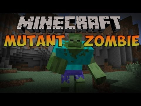 Как в майнкрафте сделать мутанта зомби без модов