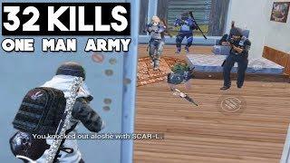 NEW RECORD ON ERANGEL | 32 KILLS Solo vs Squad | PUBG Mobile