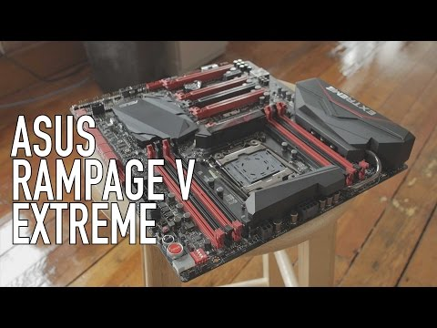 ASUS Rampage V Extreme - X99 ROG Motherboard Overview With JJ...