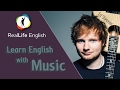 Learn English with Music - Shape of You (Ed Sheeran)